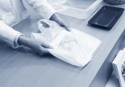 調剤薬局にて患者様にお渡しする薬を入れるレジ袋に広告チラシを同封することが可能です。